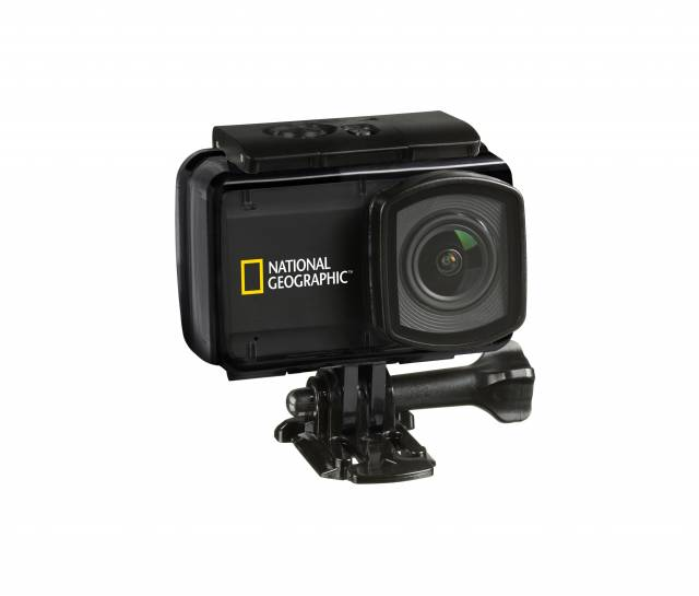 NATIONAL GEOGRAPHIC 4K Ultra-HD 30fps WIFI Action Camera Explorer 4