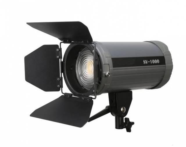 BRESSER SV-1500A Bi-Color LED Fresnel Leuchte mit DMX-Anschluss