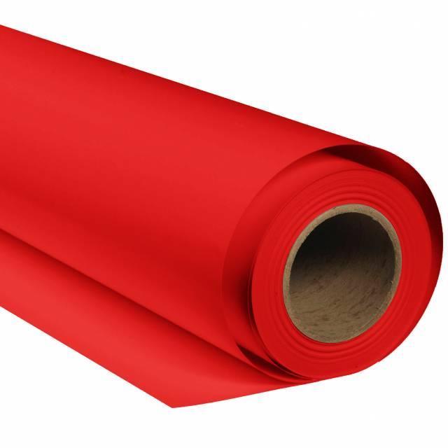 BRESSER SBP05 Papierhintergrundrolle 2,00 x 11m Rot