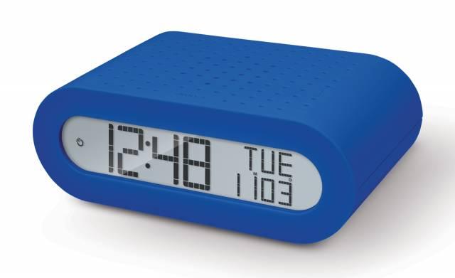 Oregon Scientific FM Radiowecker mit Funkuhr - blau