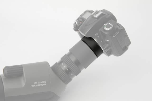 BRESSER Adaptador de fotos Canon EOS para telescopios Condor