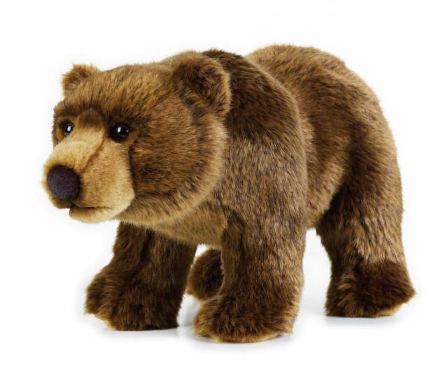 NATIONAL GEOGRAPHIC Plush-Grizzly Bear