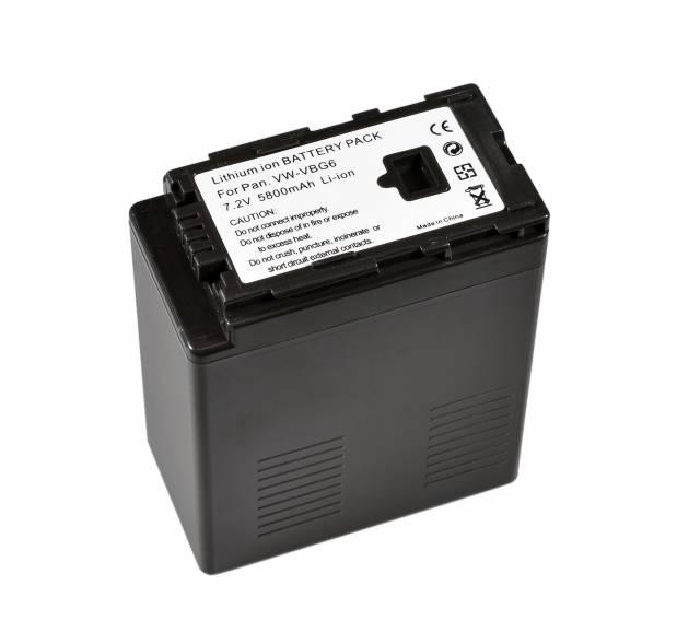 BRESSER Batterie de rechange Lithium-Ion pour Panasonic VW-VBG6