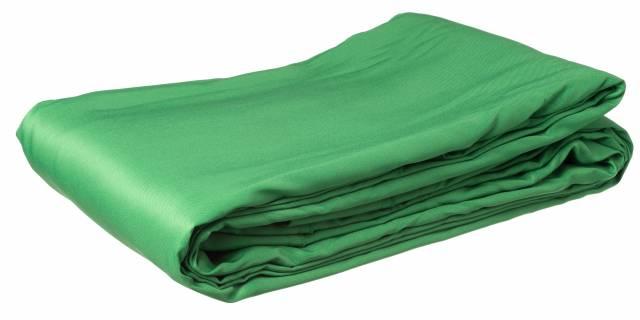 Fondale in poliestere BRESSER BR-8P 3x6m verde chromakey