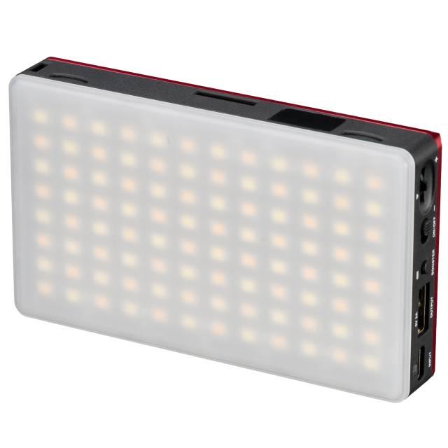 BRESSER Pocket LED 9W Bi-Color Dauerlicht für den mobilen Einsatz und Smartphone-Fotografie