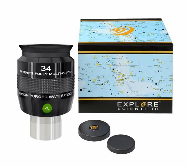 """EXPLORE SCIENTIFIC 68° Ar Okular 34mm (2"""")"""
