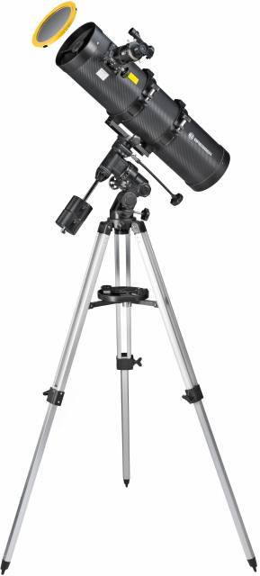 BRESSER Pollux 150/750 EQ3 Telescope with Solar-Filter