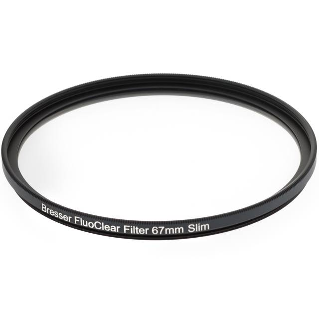 BRESSER FluoClear filter for fluorescence 67mm slim