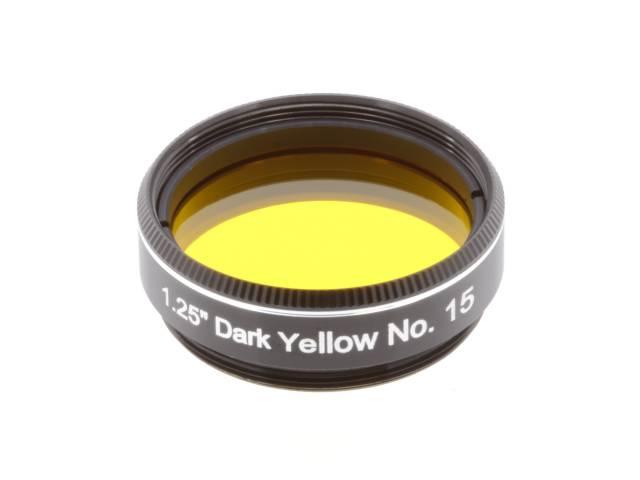 "EXPLORE SCIENTIFIC Filter 1.25"" Dark Yellow No.15"