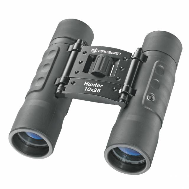 BRESSER Hunter 10x25 Pocket Binoculars