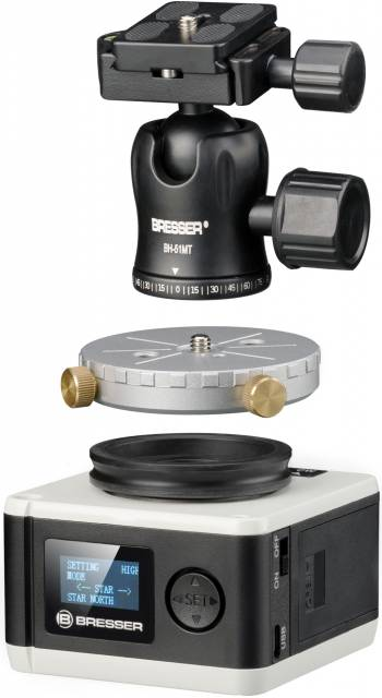 Monture d'astrophotographie BRESSER StarTracker PM-100