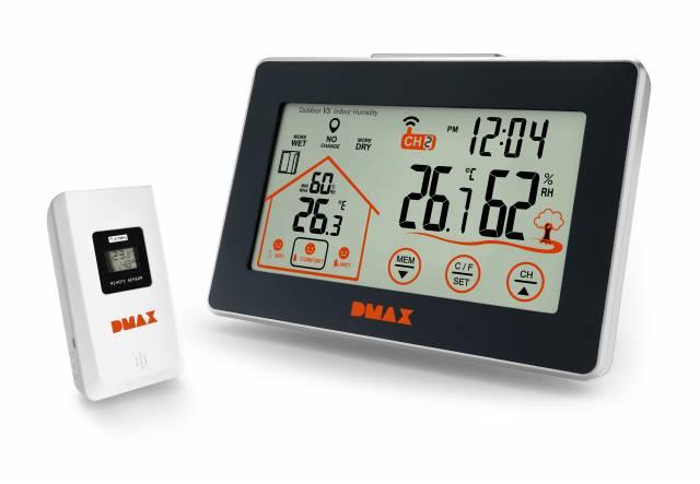 Dmax Temperatur & Hygro Station mit Lüftungsempfehlung