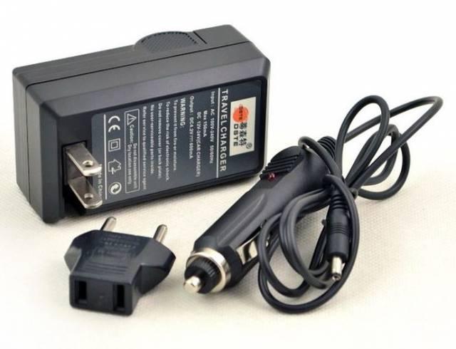 BRESSER Cargador para Sony NP-FM500H / NP550 / NP750