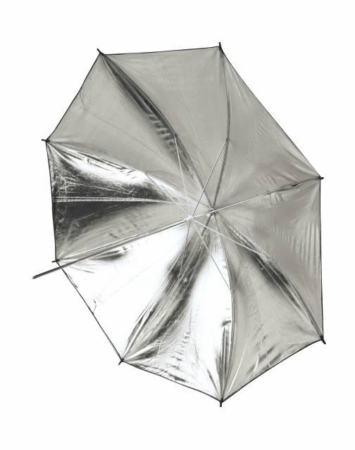 BRESSER SM-11 Parapluie Réflecteur blanc/noir 101cm