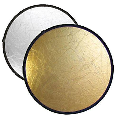 Riflettore pieghevole 2-in-1 BRESSER BR-TR5 oro/argento 60 cm rotondo
