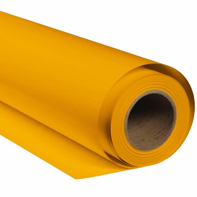 Tło fotograficzne kartonowe BRESSER SBP14 2×11m żółty jaskier