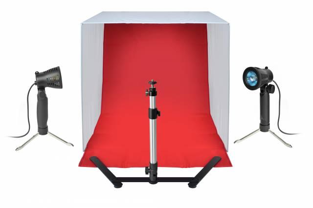 Set BRESSER BR-2118B per fotografare prodotti 60x60x60 cm
