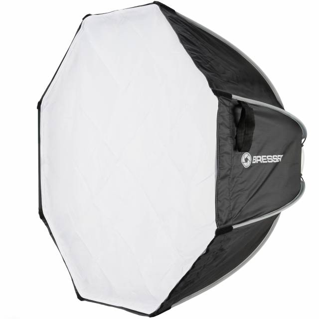 BRESSER Super Quick easy-open octabox, 65 cm with Elinchrom Connection