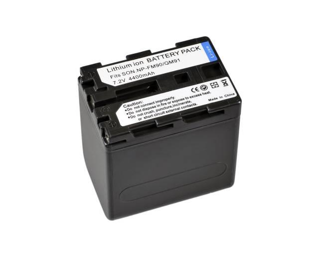 BRESSER Lithium-Ionen Ersatzakku für Sony NP-QM91