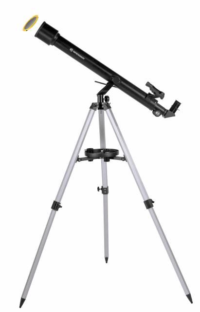 BRESSER Stellar 60/800 AZ - Refractor telescope with Smartphone Camera Adapter