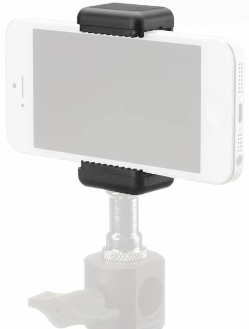 Soporte de Smartphone BRESSER BR-140 para Trípodes con Tornillo de Cámara fotográfica de 1/4''