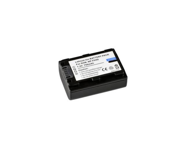 BRESSER Batería de repuesto de iones litio para Sony NP-FH50
