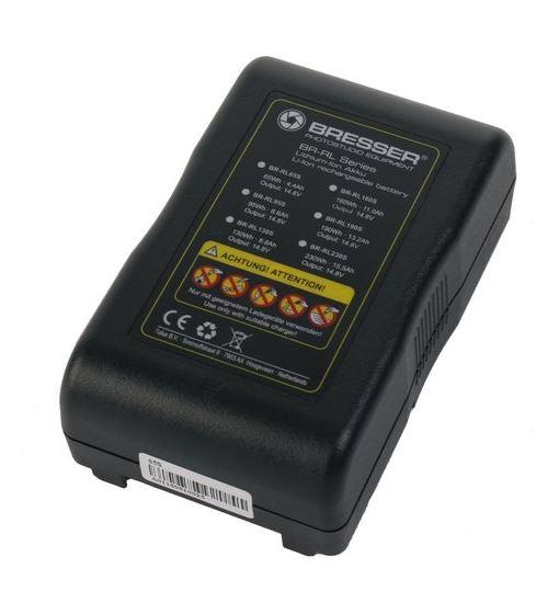 BRESSER BR-RL65S V-Lock Accumulatore 65Wh, 4.4Ah, 14.8V
