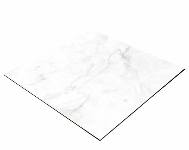 BRESSER Flat Lay Background for Tabletop Photography 60x60cm Light Marble