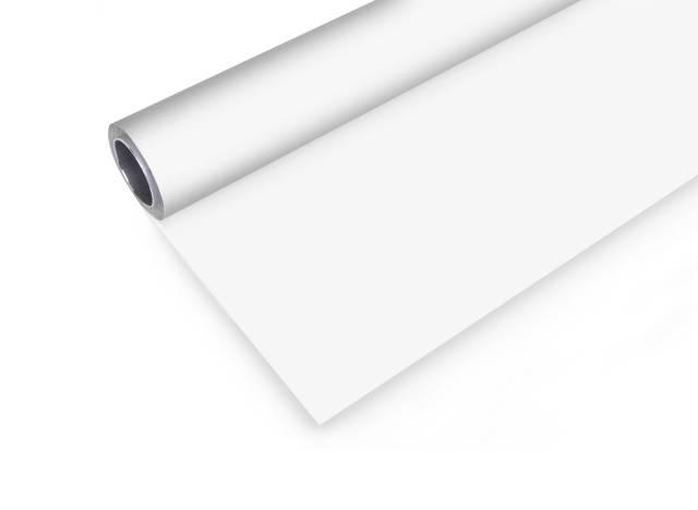 BRESSER Fondale in Vinile 2x8m bianco