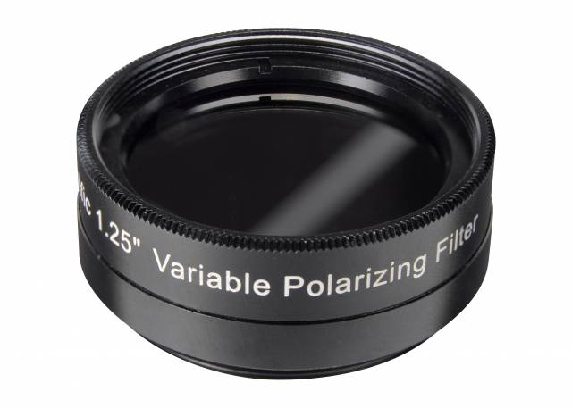 EXPLORE SCIENTIFIC Filtro polarizador variable 1.25""