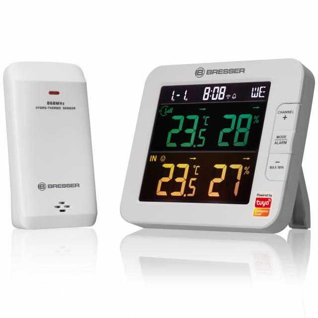 BRESSER Tuya Smart Thermo- / Hygrometer
