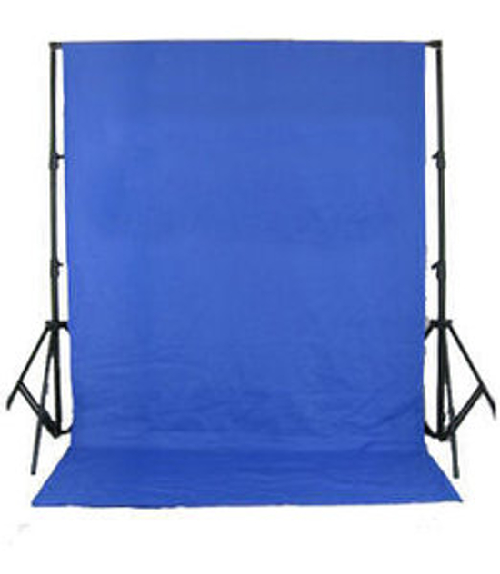 BRESSER BR-D26 Background System + Background Cloth 3x6m chromakey blue