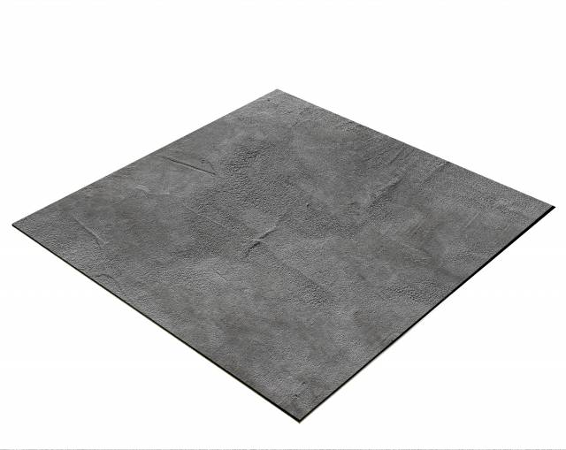 BRESSER Flat Lay Background for Tabletop Photography 40 x 40cm Concrete Look Dark Grey