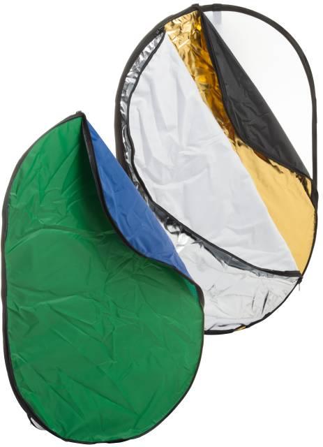 BRESSER BR-TR2 7 in 1 opvouwbare Diffuser, Reflectiescherm en Achtergrond 100x150cm