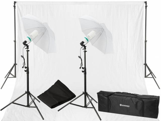 BRESSER BR-2103 Daylight and Background Set 850W