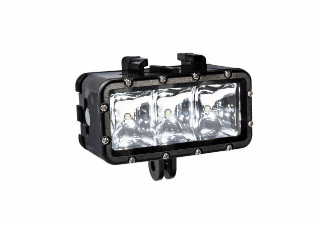 BRESSER foco LED para Action Cam