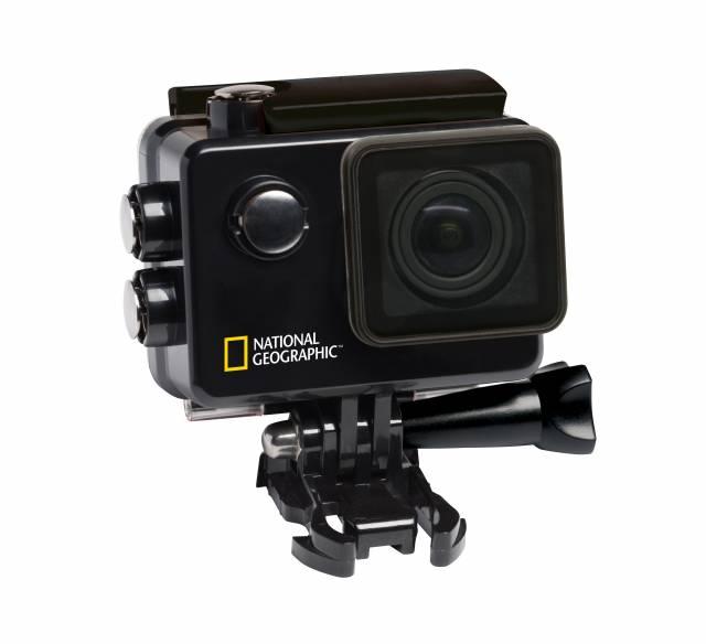 NATIONAL GEOGRAPHIC 4K Ultra-HD WLAN Action Camera Explorer 3