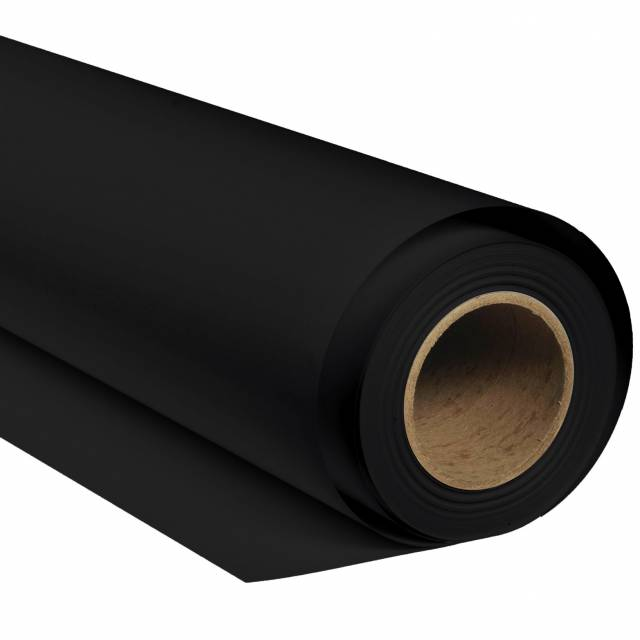 BRESSER SBP02 Paper Background Roll 2.00x11m black