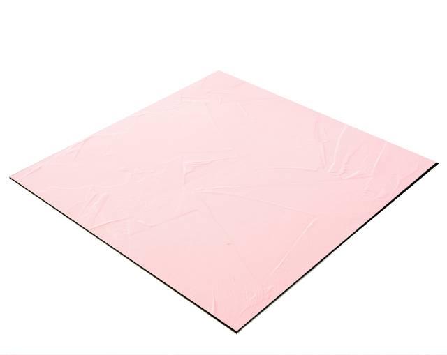BRESSER Flatlay Hintergrund für Legebilder 40x40cm Pastellrosa