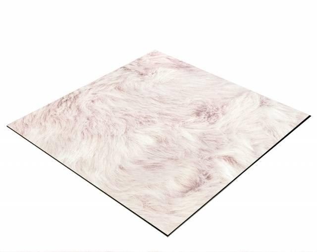 Fond Flat Lay BRESSER pour Photos à plat 60 x 60 cm Rose Poudré