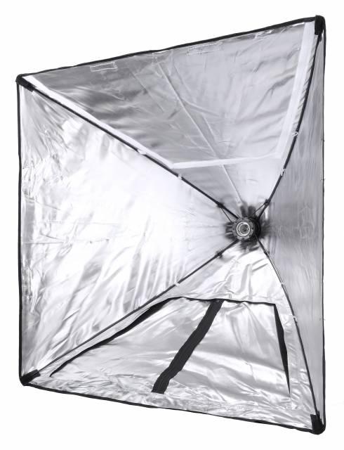 BRESSER SS-28 Gabbia di luce e Softbox con portalampada 70x70 cm