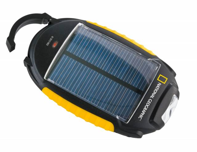 NATIONAL GEOGRAPHIC Cargador solar 4 en 1