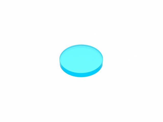 LUNT Blue-Glass 20mm for B400 to B1800 blocking-filters