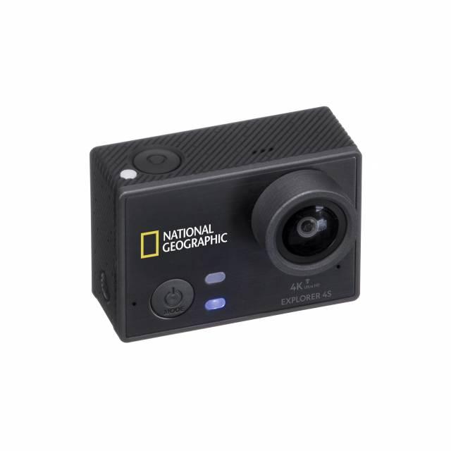 Cámara de Acción NATIONAL GEOGRAPHIC 4K Ultra-HD 30fps WLAN Explorer 4S