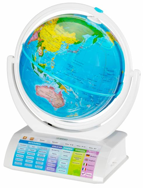 Oregon Scientific SmartGlobe™ Explorer 2.0 - interaktiver & aufklappbarer Globus