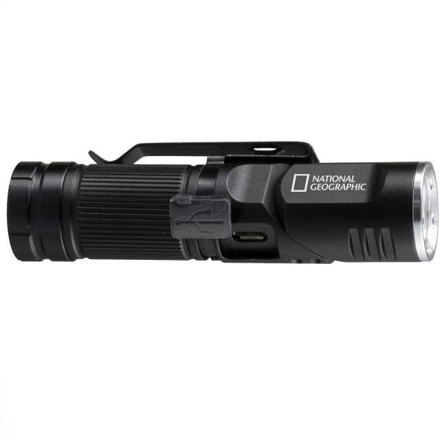 NATIONAL GEOGRAPHIC ILUMINOS 450 Linterna LED Con Cinta Para Cabeza 450 lm
