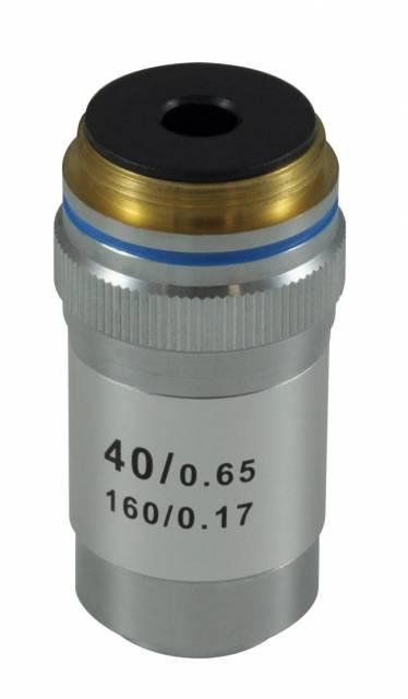 Objetivo acromático BRESSER, 40x DIN