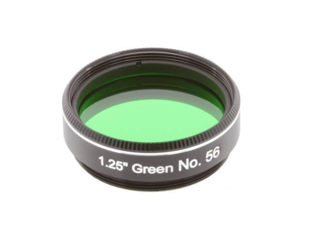 """EXPLORE SCIENTIFIC Filtre 1.25"""" Vert Nr.56"""
