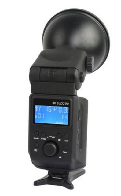 BRESSER SJD-200 Speedlite/Studio + rechargeable Battery