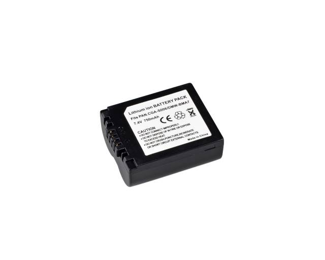 BRESSER Lithium-Ionen Ersatzakku für Panasonic DMW-BMA7/CGA-S006E